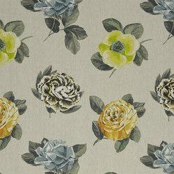 Pavonia Fabrics | Pavonia - Saffron | Tessuti tende | Designers Guild