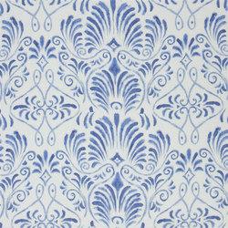 Pavonia Fabrics | Bacchus - Indigo | Tissus pour rideaux | Designers Guild