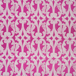 Portico Taffetas | Portico - Magenta | Tissus pour rideaux | Designers Guild