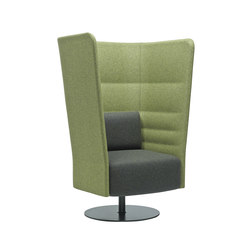 Cell 128 high-back armchair | Privacy furniture | sitland