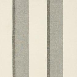 Saraille Fabrics | Malou - Noir | Tessuti tende | Designers Guild