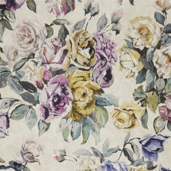 Seraphina Fabrics | Viola - Heather | Curtain fabrics | Designers Guild