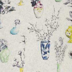 Seraphina Fabrics | Celeste - Porcelain | Tessuti tende | Designers Guild