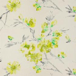 Shanghai Garden Fabrics | Oriental Flower - Acacia | Tejidos para cortinas | Designers Guild