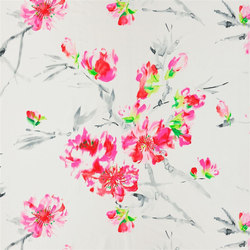 Shanghai Garden Fabrics | Oriental Flower - Peony | Curtain fabrics | Designers Guild