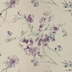 Shanghai Garden Fabrics | Oriental Flower - Thistle | Curtain fabrics | Designers Guild