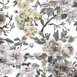 Shanghai Garden Fabrics | Shanghai Garden - Ecru | Tejidos para cortinas | Designers Guild