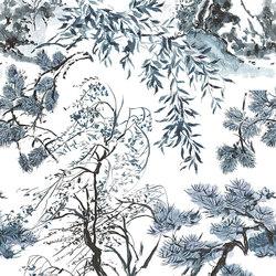 Shanghai Garden Fabrics | Winter Palace - Indigo | Curtain fabrics | Designers Guild