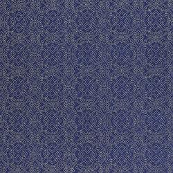 St. James's Fabrics | Tudor Trellis - Sapphire | Curtain fabrics | Designers Guild