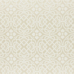 St. James's Fabrics | Kensington Brocade - Ivory | Curtain fabrics | Designers Guild
