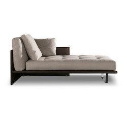 Luggage chaise-longue | Dormeuse | Minotti