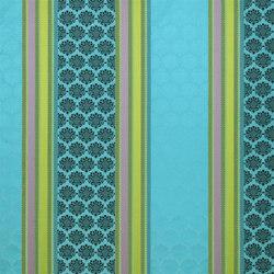 Taillandier Fabrics | Perrault - Turquoise | Curtain fabrics | Designers Guild