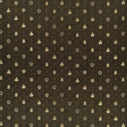 Buckingham Fabrics | Queen Marys Book - Ebony | Curtain fabrics | Designers Guild