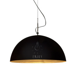 Mezza Luna lavagna pendant | Suspensions | IN-ES.ARTDESIGN