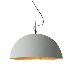 Mezza Luna cemento pendant | Suspensions | IN-ES.ARTDESIGN
