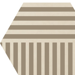 Cørebasics Stripes Ivory | CB60SI | Carrelages | Ornamenta