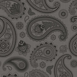 Paisley Grey | PA4080G | Tiles | Ornamenta