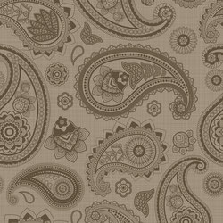 Paisley Taupe | PA4080T | Tiles | Ornamenta
