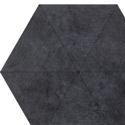 Falso Nueve Black Hexagon | FN60B | Tiles | Ornamenta