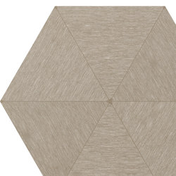 Falso Nueve Taupe Hexagon   FN60T   Piastrelle   Ornamenta