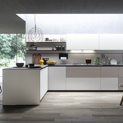 Forma Mentis | Angel Skin Fronten | Fitted kitchens | Valcucine