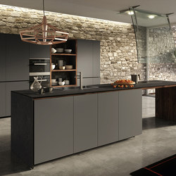 Forma Mentis | Lacquered Door | Island kitchens | Valcucine