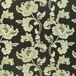 Milano Fabrics | Roma - Black And White | Curtain fabrics | Designers Guild