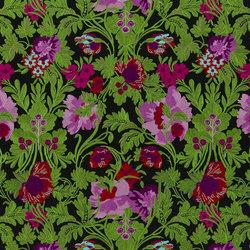 Belles Rives Fabrics | Bataille De Fleurs - Bougainvillier | Curtain fabrics | Designers Guild