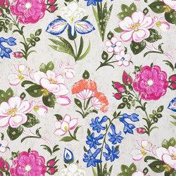 Amrapali Fabrics | Lotus Flower - Peony | Curtain fabrics | Designers Guild