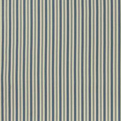 Signature Artiste de la Mer Fabrics | Arbaud Ticking - Vintage Blue | Curtain fabrics | Designers Guild