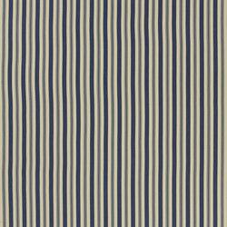 Signature Artiste de la Mer Fabrics | Arbaud Ticking - Navy | Curtain fabrics | Designers Guild
