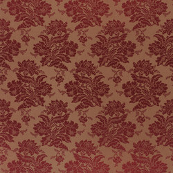 Signature Ashdown Manor Fabrics | Wroxton Damask - Crimson | Tejidos para cortinas | Designers Guild