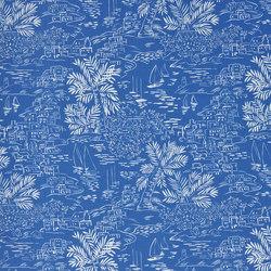 Signature Sur la Cote Fabrics | Homeport Scenic - Harbour | Curtain fabrics | Designers Guild