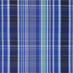Signature Sur la Cote Fabrics | Martigues Madras - Harbour | Tissus pour rideaux | Designers Guild