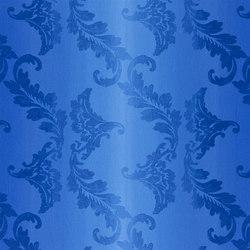 Astrakhan Fabrics | Aksu - Cobalt | Curtain fabrics | Designers Guild