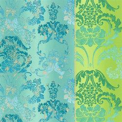 Astrakhan Fabrics | Kashgar - Jade | Curtain fabrics | Designers Guild