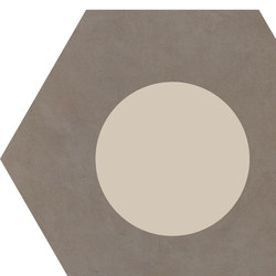 Cørebasics Dot-Positive Ashgrey | CB60DPA | Ceramic tiles | Ornamenta