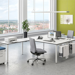 Sympas Desk range | Tables collectivités | Assmann Büromöbel