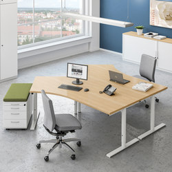 Sympas Desk range | Tavoli contract | Assmann Büromöbel