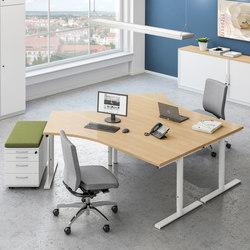 Sympas Desk range | Desking systems | Assmann Büromöbel