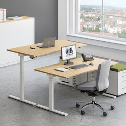 Sympas Desk range | Contract tables | Assmann Büromöbel