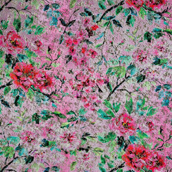 Aurelia Fabrics | Jichang - Peony | Tejidos para cortinas | Designers Guild