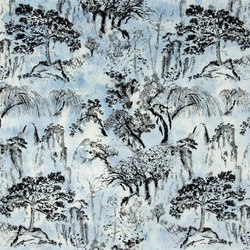 Aurelia Fabrics | Shanshui - Cloud | Curtain fabrics | Designers Guild