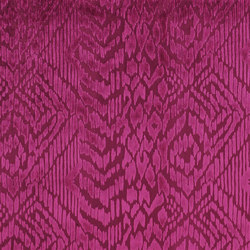 Boratti Fabrics | Morosini - Damson | Curtain fabrics | Designers Guild