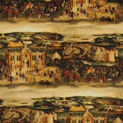 Buckingham Fabrics | Cloth Of Gold - Peridot | Curtain fabrics | Designers Guild
