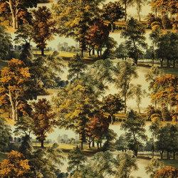 Buckingham Fabrics | Windsor Velvet - Moss | Tejidos para cortinas | Designers Guild