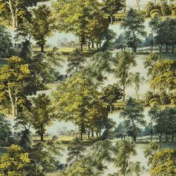 Buckingham Fabrics | Windsor Garden - Jade | Curtain fabrics | Designers Guild