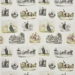 Buckingham Fabrics | Royal Promenade - Lapis | Curtain fabrics | Designers Guild