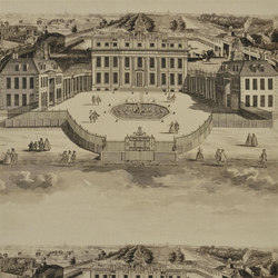 Buckingham Fabrics | Buckingham House - Graphite | Tessuti tende | Designers Guild