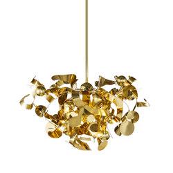 Kelp chandelier round | Ceiling suspended chandeliers | Brand van Egmond